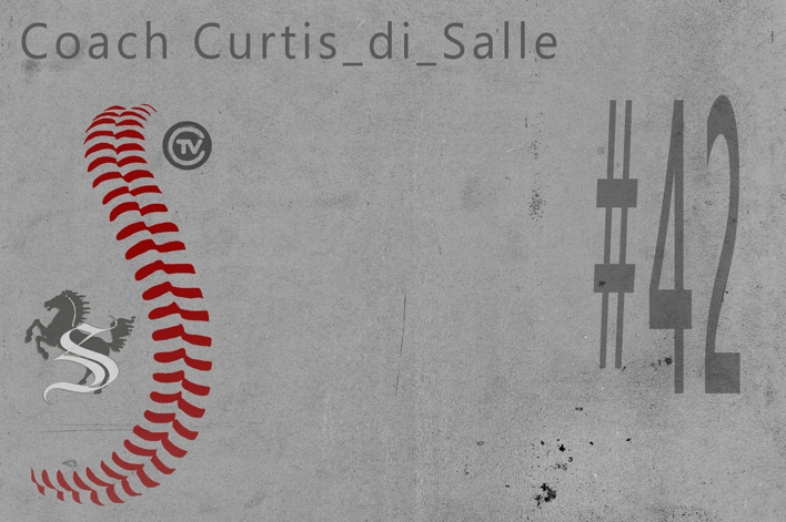 JUN Curtis DiSale #42 Coach