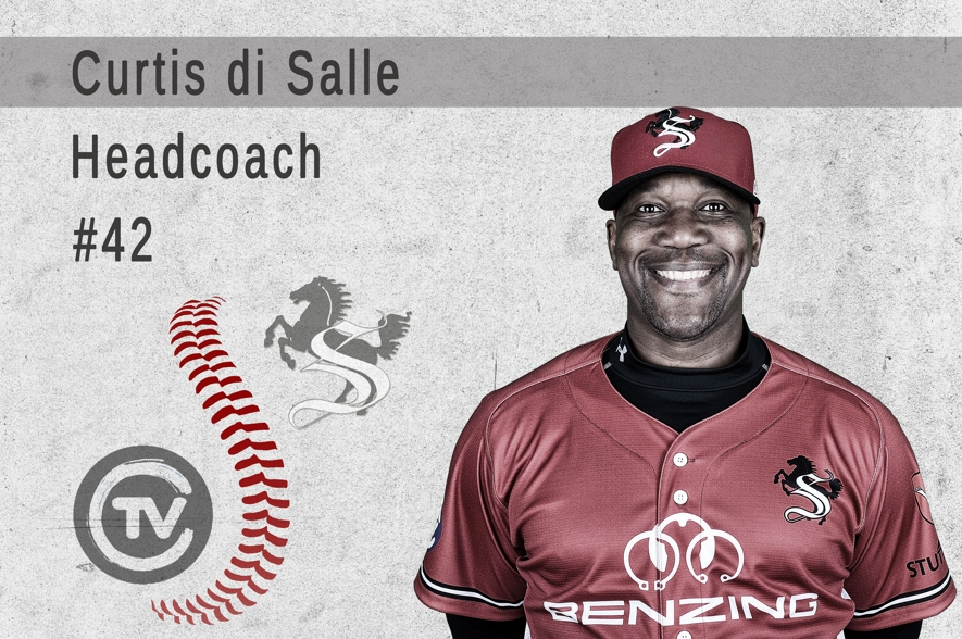 BB1 Curtis DiSale #42 Coach